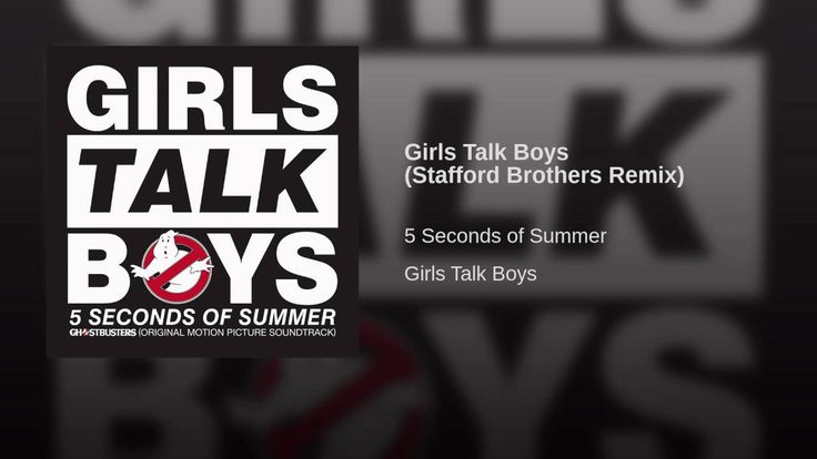 Girls Talk Boys (Stafford Brothers Remix) Love this remix so much!!!!