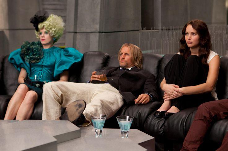 Effie, Haymitch and Katniss