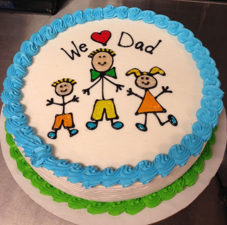 Father S Day Dq Ice Cream Cake My Cakes Dad Birthday