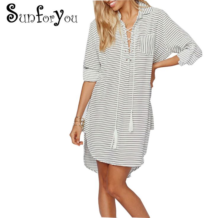 Beach tunic Pareos Beach Cover up Shirt Chiffon Veck Tassel Swimsuit cover up Bathing suit cover up Women Beachwear Tops //Price: $34.74 & FREE Shipping //     #Shopping