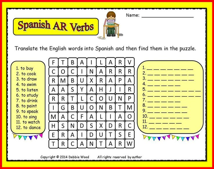 Conjugating -AR verbs: a collection of ideas to try about ...