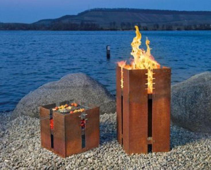 ber ideen zu rustikale feuerstellen auf pinterest