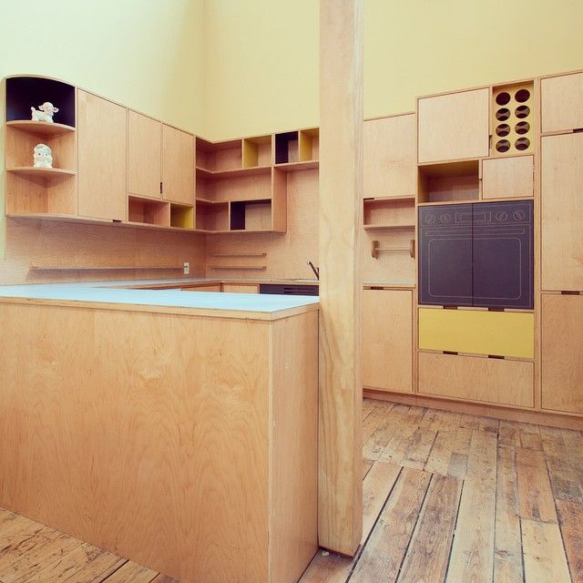79 best images about kerf plywood kitchens on pinterest for All plywood kitchen cabinets