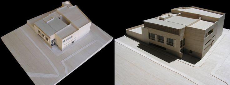 MERCADO DE HERRERA, SEVILLA. Diputación de Sevilla MEDIDAS: 60 x 40 cm  ESCALA: 1/100   MATERIALES: Chapa de abedul, madera de balsa y vidrio.