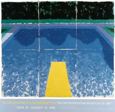 David Hockney's Pool paintings remind me that summer is fading...