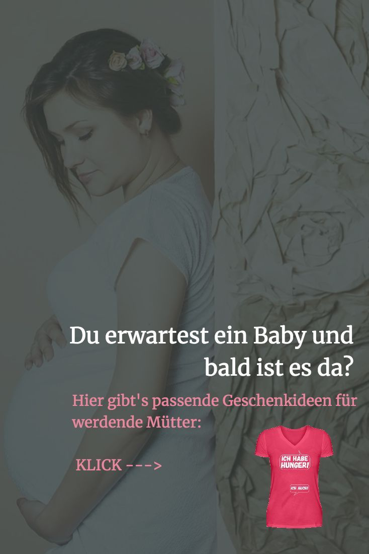Für die Schwangerschaftsanzeige gibt es die schönsten Geschenkideen für …  …