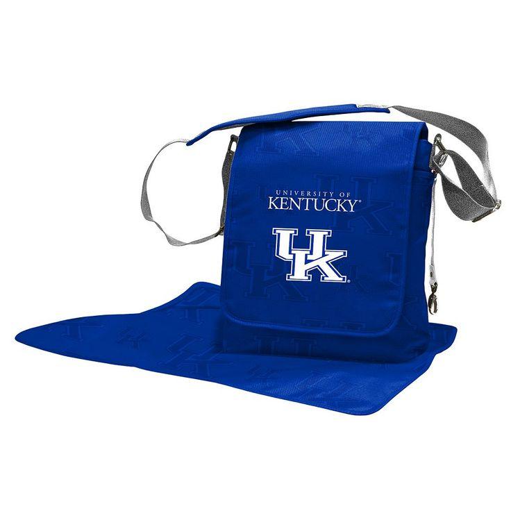 Kentucky Wildcats Lil' Fan Diaper Messenger Bag, Blue