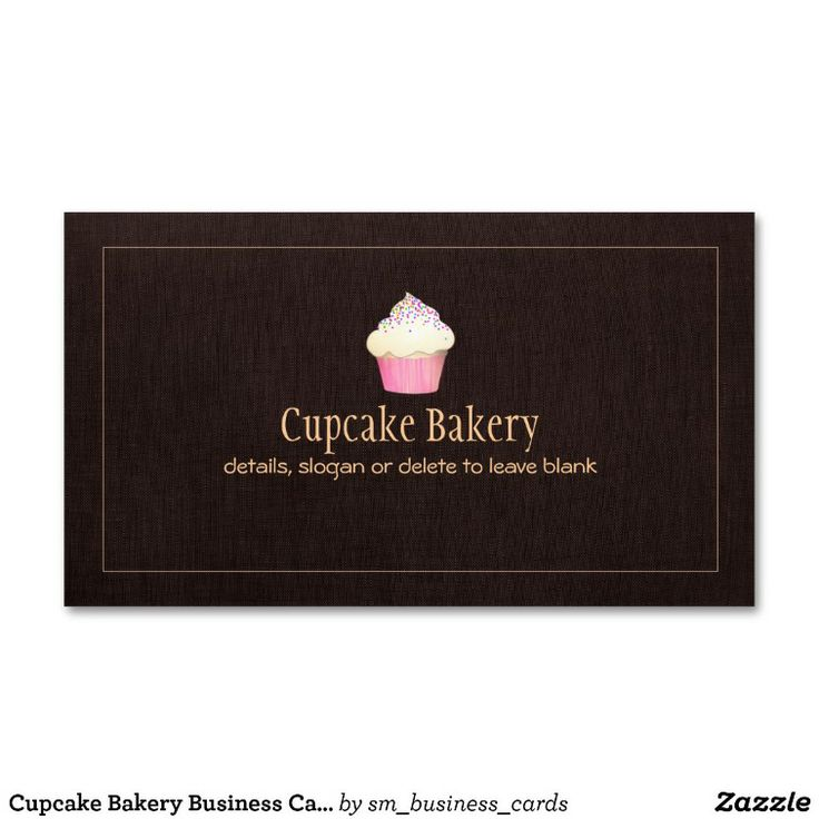 46 best Bakery and Pastry Chef Business Cards images on Pinterest ...