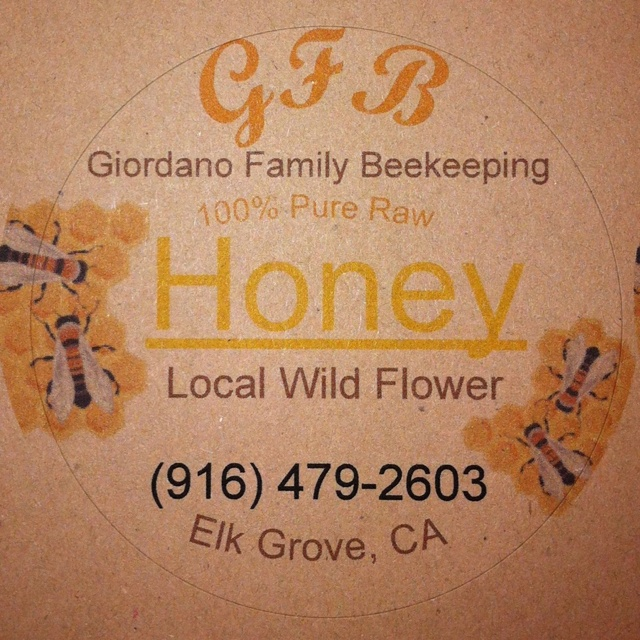 Sample honey label