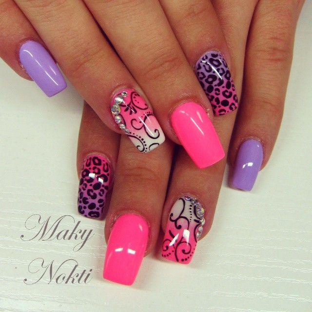 hot nails love the design