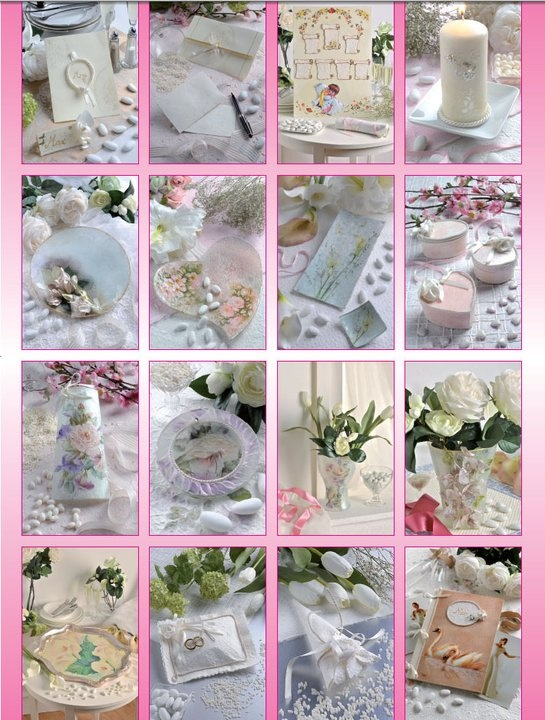 Projects and ideas for the wedding day - Italian language back cover