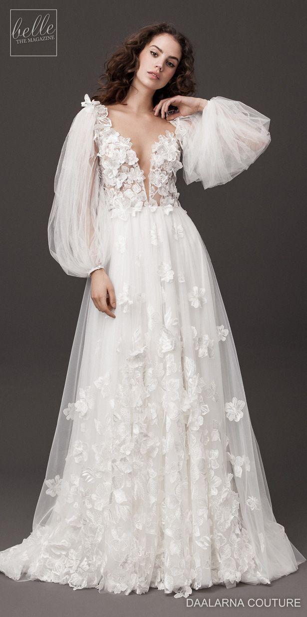 Daalarna Couture Wedding Dresses Spring 2020 Rebel Bridal Collection