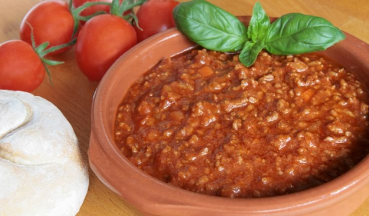 Az eredeti olasz bolognai szósz receptje: