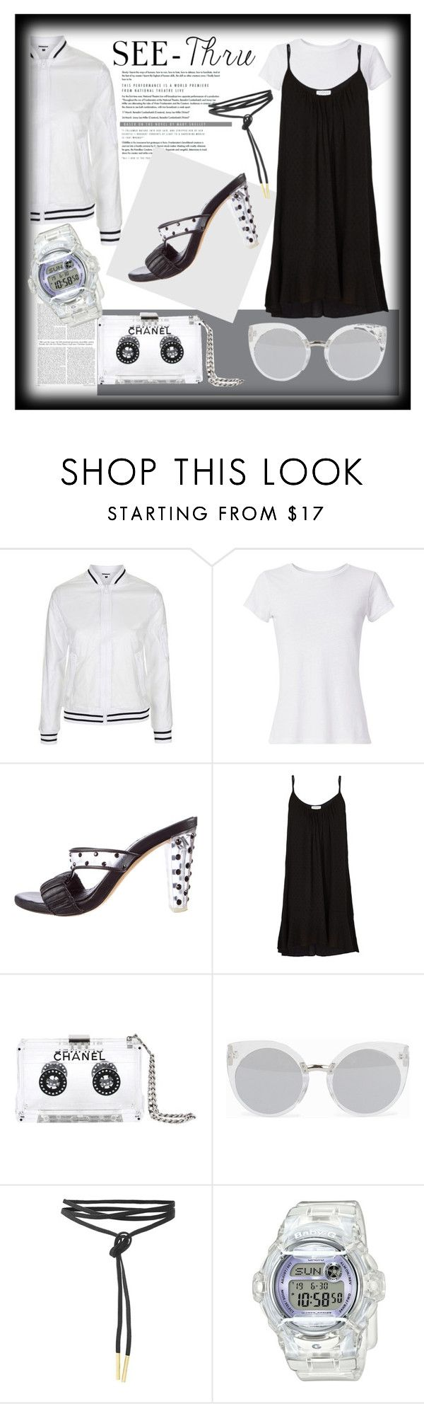 """See Through Trend"" by zippy135 liked on Polyvore"