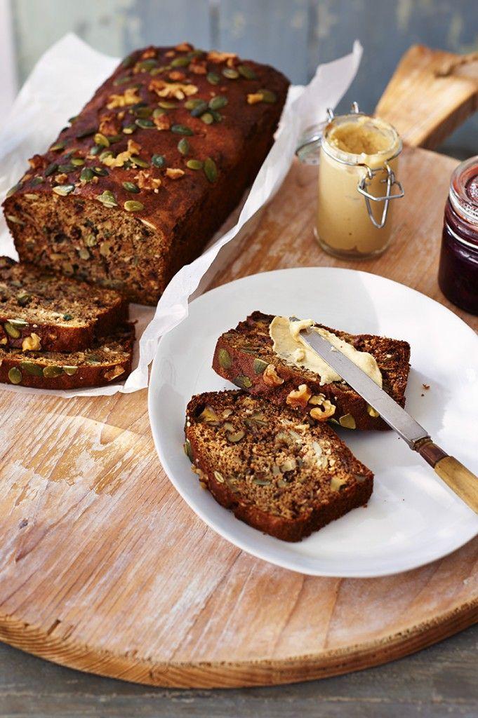 bananenbrood met noten en zaden
