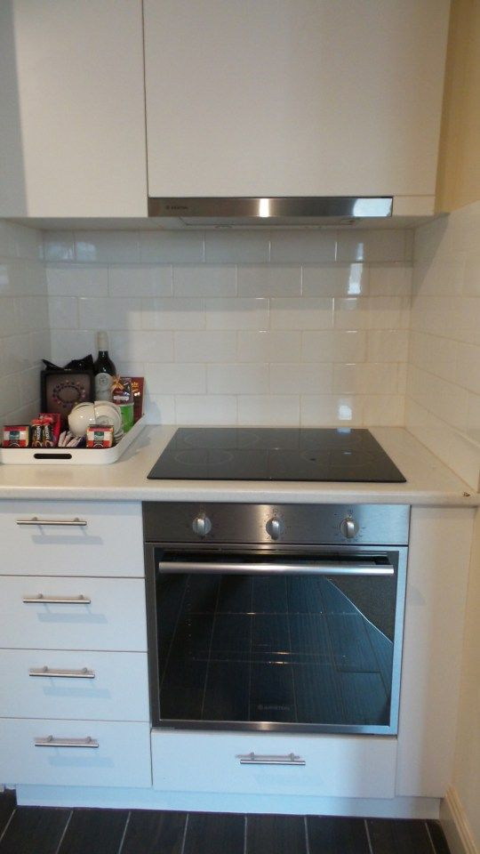 Kitchen in a two bedroom Apartment at the Grand Hotel Melbourne, Australia