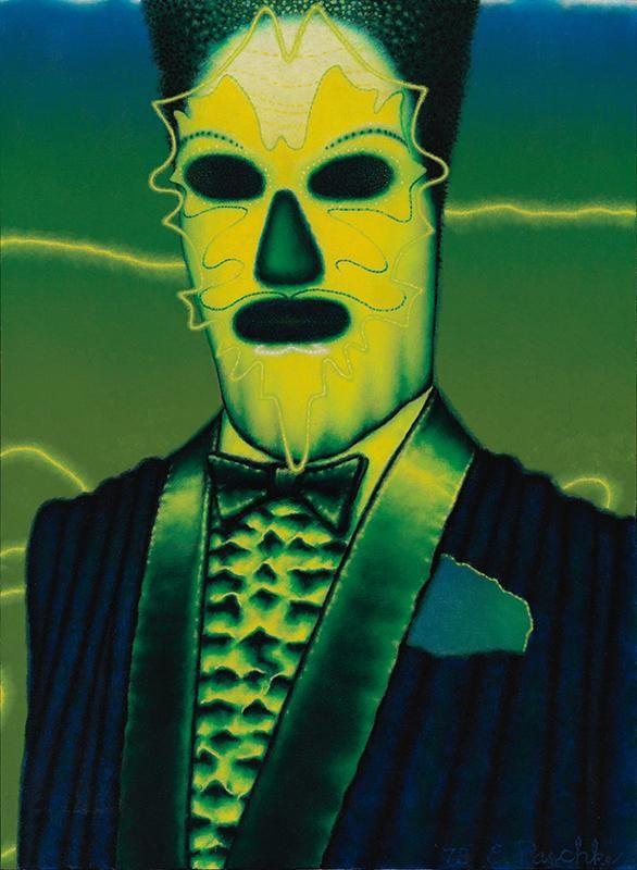 Ed Paschke (American, 1939-2004), Bombalia, 1978. Oil on canvas, 76 x 55 cm.