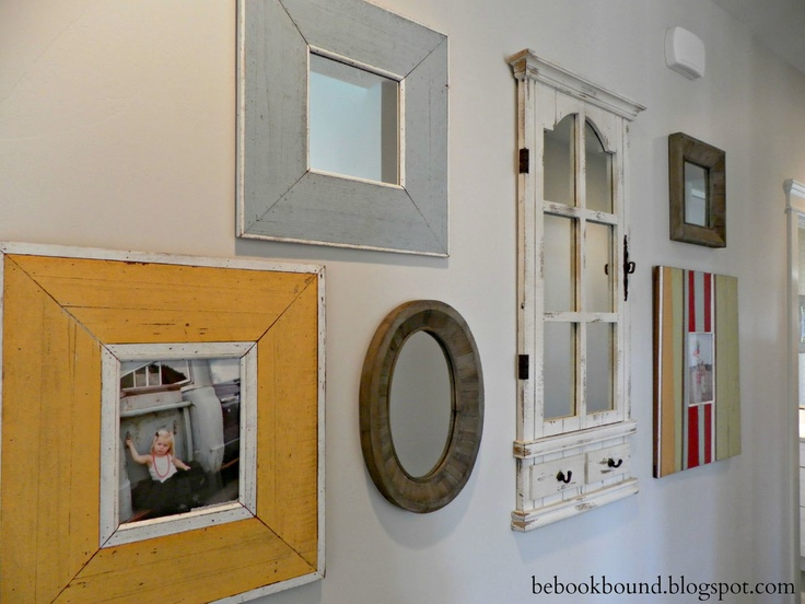 Be Book Bound: Poor Richard's Almanack: Collection Love  frames and mirrors in the hallway