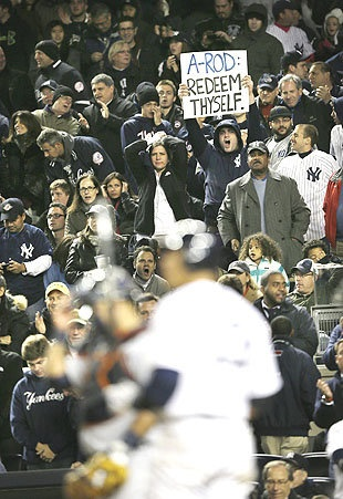 Report: A-Rod flirts with female fans during loss in Game 1 of ALCS 2012