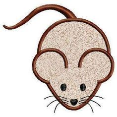 Free Embroidery Design: Mouse