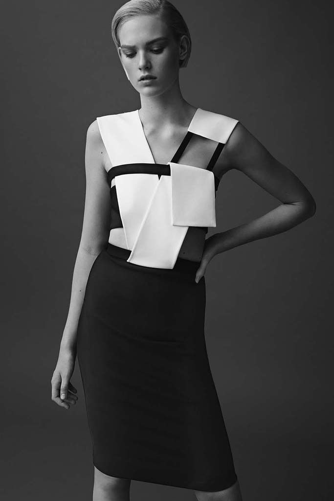 Mugler Resort 2015 if Dior were alive, this might be where he would go. bravo.