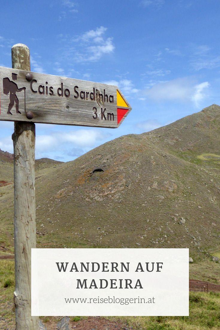 Wandern auf Madeira - Viele Wandermöglichkeiten gibt es auf Madeira. #wandern #madeira