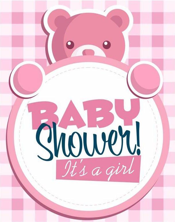 Fiesta baby shower para ni a rosa y blanco baby shower - Fiesta baby shower nina ...