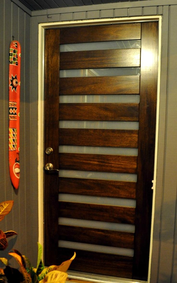 81 best modern wooden doors images on Pinterest | Black door, Cake ...