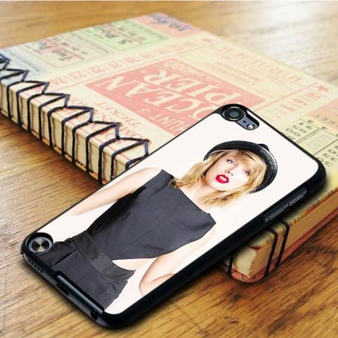 Taylor Swift Cover Album Red Lips iPod 6 Touch Case