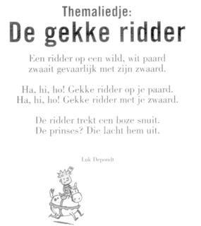 Versje gekke ridder