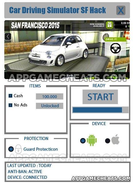 Car Driving Simulator SF Hack & Cheats for Cash & No Ads ...