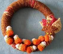 free crochet wreath patterns - Bing Search