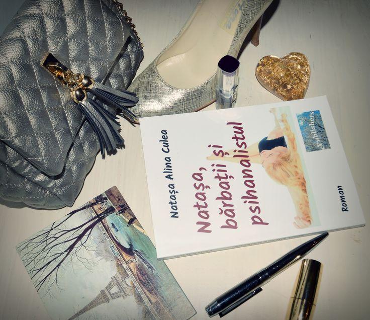 "Carte ""Natasa, barbatii si psihanalistul"". Autor: Natasa Alina Culea book/women"