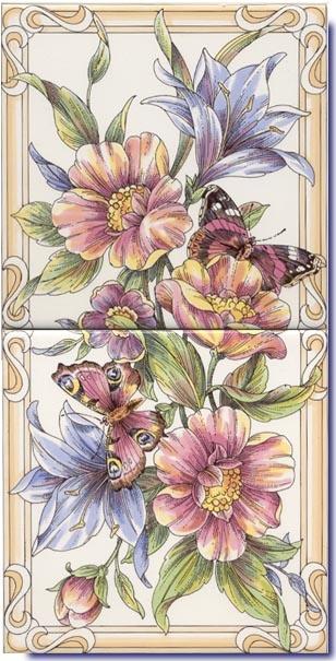 Çini pano desenleri