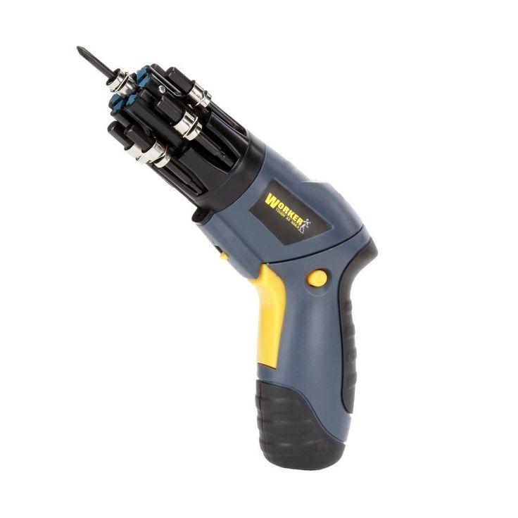 Worker 4.8 Revolver Power Screwdriver