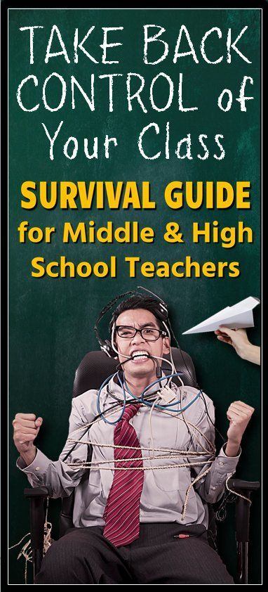 Avoid classroom management nightmares with this Complete Classroom Management Survival Guide.  Prepare ahead for difficult situations and stay clear of many classroom management mistakes.  These concrete strategies are geared for middle and high school teachers.