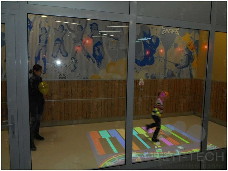 Interactive Floor & Wall System