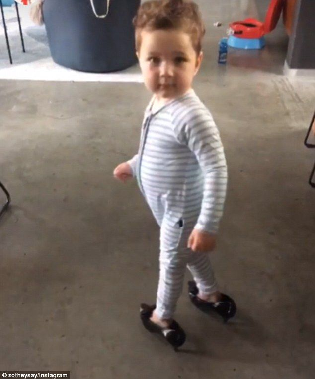 'Fierce Brosnan': On Friday, Zoe Foster Blake shared a hilarious video of two-year-old Son...