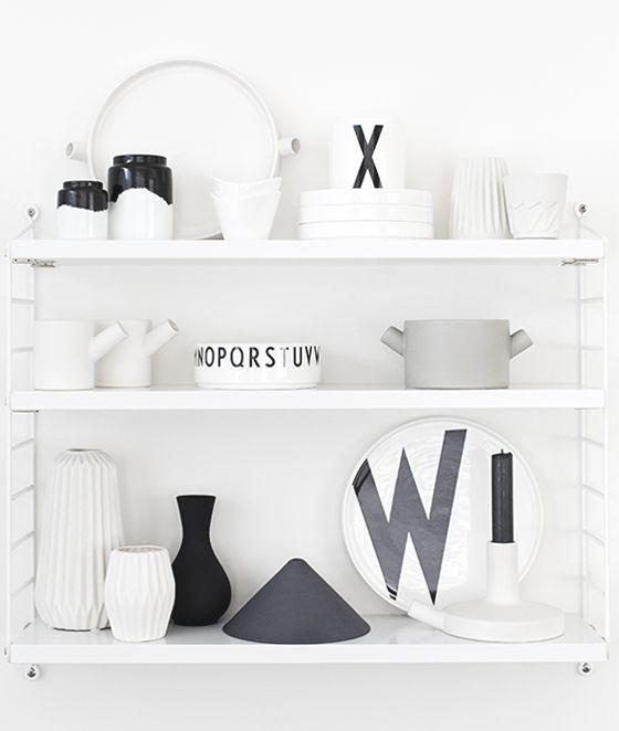 Via Beeldsteil.com | String Pocket | Serax | Design Letters