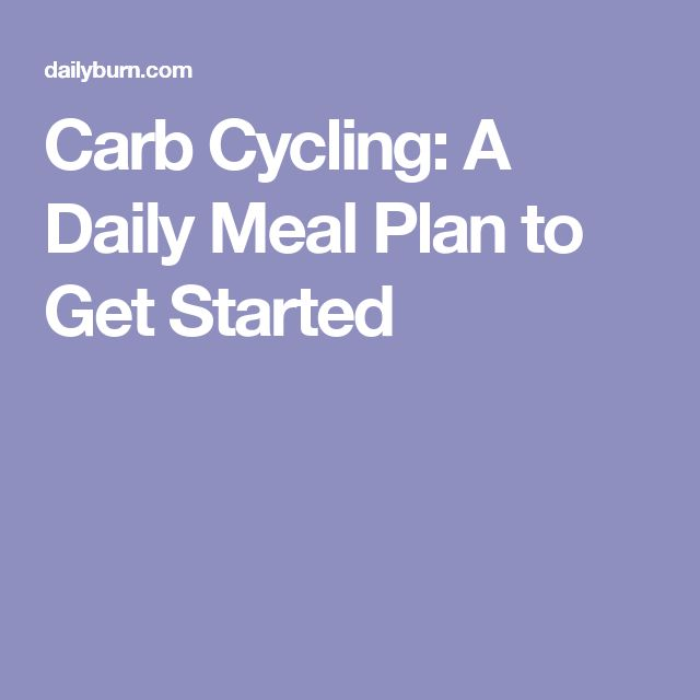 how to get started on a low carb diet