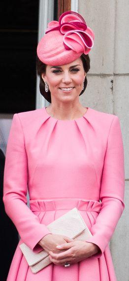Alexander McQueen pink paperbag-waist pleated dress