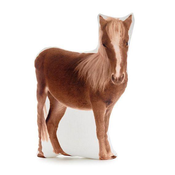 Shetland Pony Pony Cushion Horse Pillow Gift For Horse