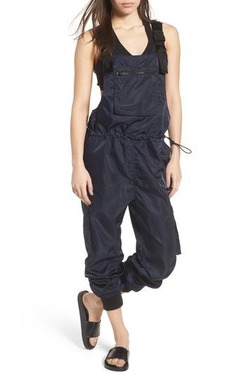 Free shipping and returns on IVY PARK® Harness Overalls at Nordstrom.com. Rugged details like logo-stamped harnesses, a pair of cargo pockets and a drawcord waist amp up the utilitarian appeal of slightly slouchy overalls inspired by traditional hiking gear.