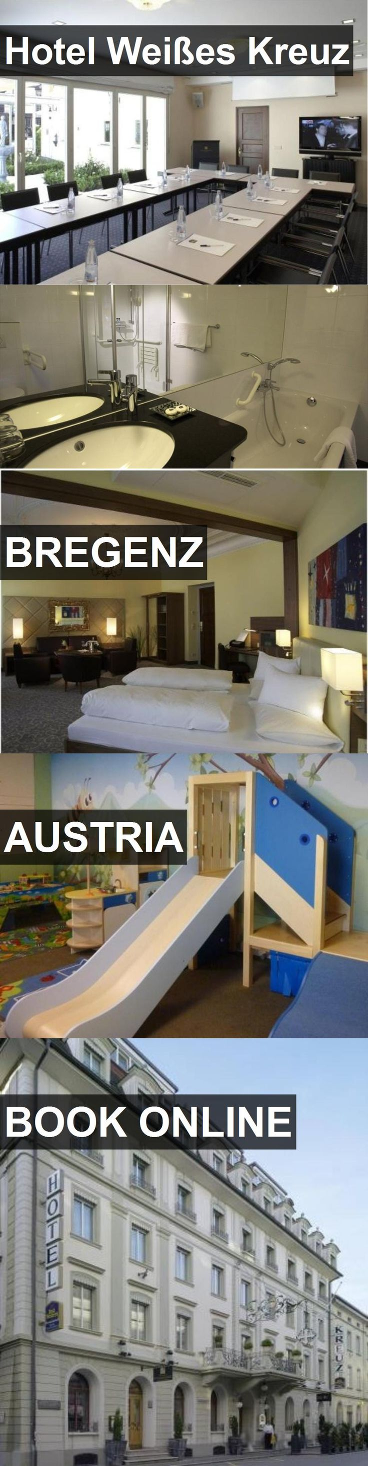 Hotel Weißes Kreuz in Bregenz, Austria. For more information, photos, reviews and best prices please follow the link. #Austria #Bregenz #travel #vacation #hotel