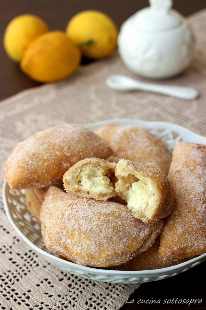 panzerottini dolci ricotta e limone ricetta