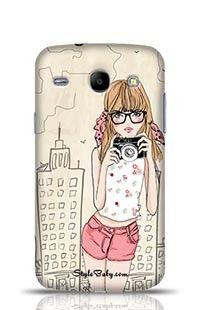 Fashion Girl Samsung Galaxy Core i8262 Phone Case