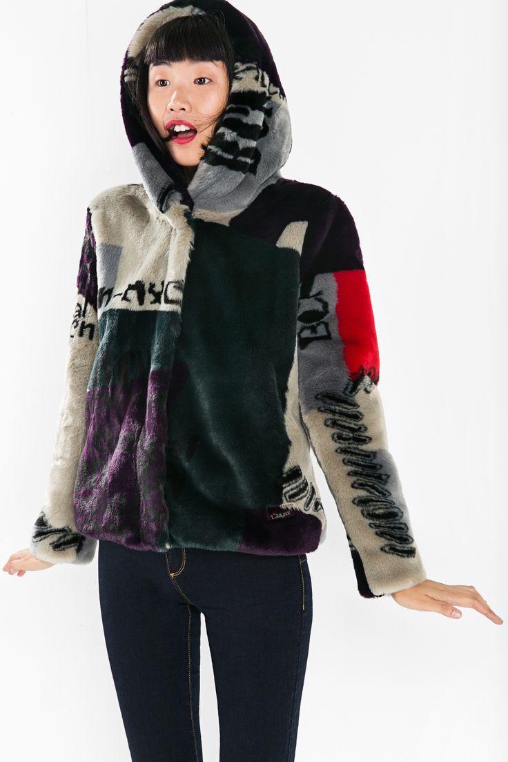 Best 25+ Fur hooded coat ideas only on Pinterest | Faux fur hooded ...