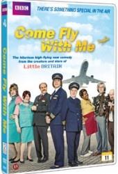 Recension av Come fly with me. En tv-serie av Matt Lucas, Paul King och David Williams.