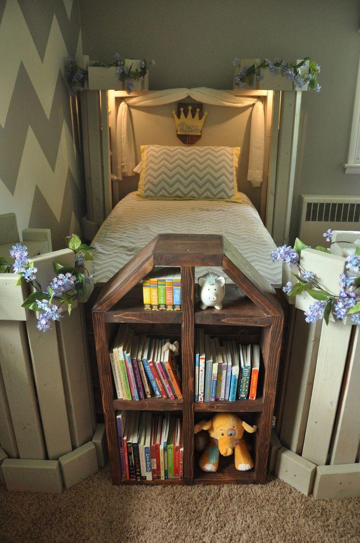 Castle Bed PLANS (pdf format) - Twin Size - DIY Princess ...