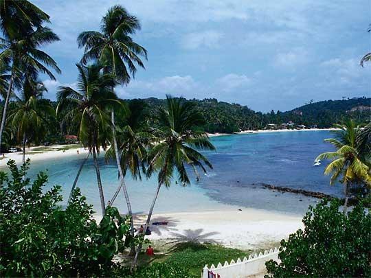 Tangalle Beach in southern Sri Lanka
